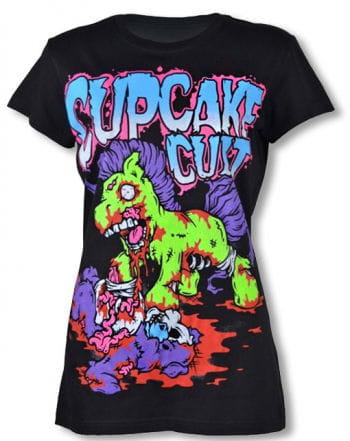 Zombie Pony Shirt Cupcake Cult L L / 40