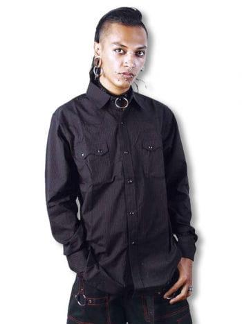 Pinstripe shirt L