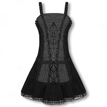 Nadelstreifen Kleid