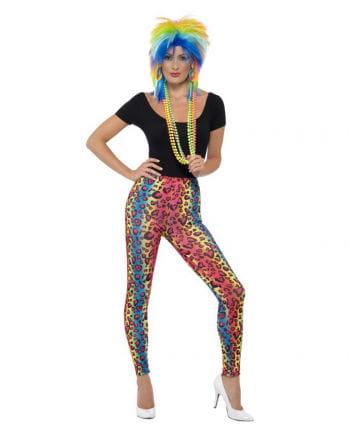 Neon leopard leggings