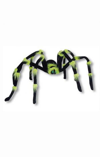 Neon Monster Spider Green