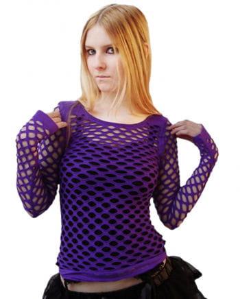 Violettes Netztop