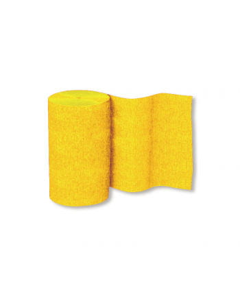 Niflamo Decorative Crepe Paper Yellow