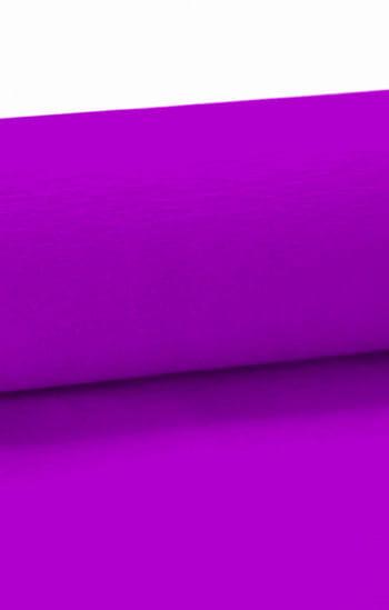 violettes Niflamo Krepp Papier 10 Meter