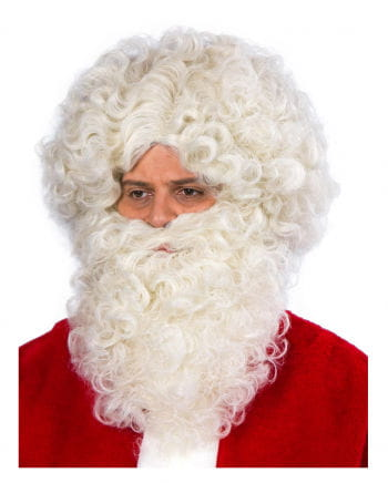 Santa Claus Beard and wig flaxen