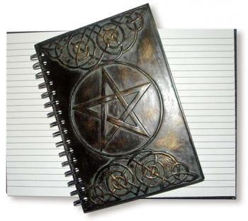 Notizbuch Pentagramm