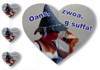 Festzelt h nge girlande oktoberfest dekoration bierzelt for Festzelt dekoration
