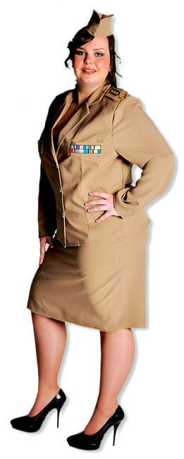 Officer Dame Premium Costume XL