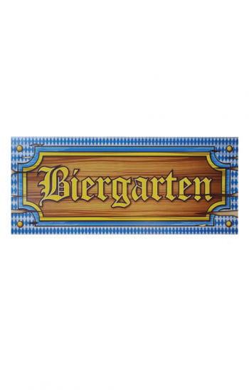 Bayerisches Biergarten-Banner