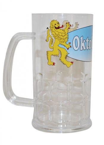 Oktoberfest plastic beer mug