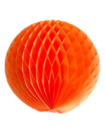 Oranger Wabenball 30 cm