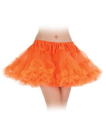 Tutu skirt neon orange