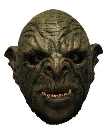 Grüne Orc Mok Maske