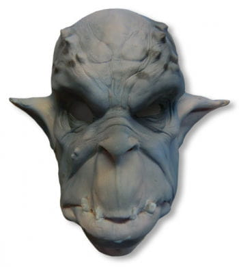 Orc mask foam latex blue-gray