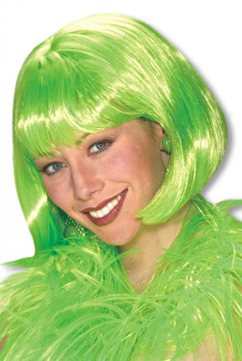 Pageboy Wig Green