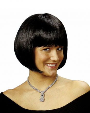 Pageboy wig black