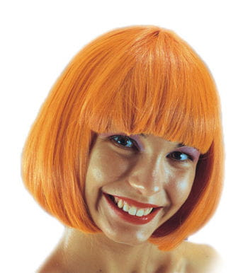 Pageboy wig Orange