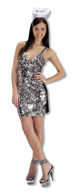 Sequin Dress Silver