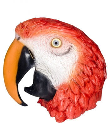 Latex Maske Papagei