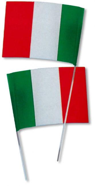 Papierfähnchen Italien 50 Stück