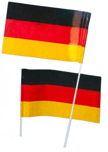 Papierfahne Deutschland 50 Stk