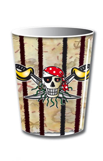 Papp Mug Red Pirate