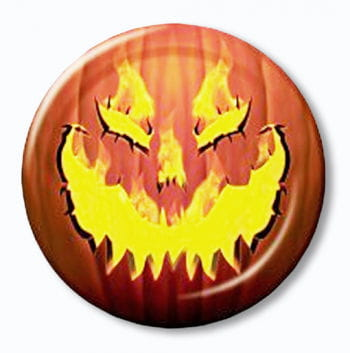 Paper Plates Hot Pumpkin