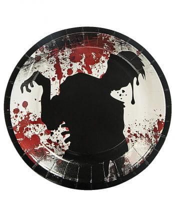 Paper plates Zombie