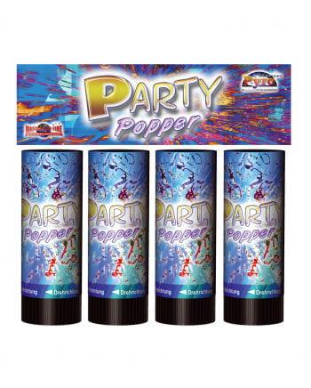 4 Stück Party Popper