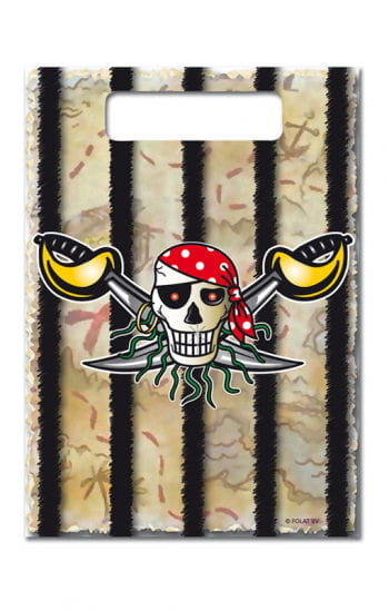 Party Taschen Red Pirate