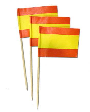 Zahnstocherfähnchen Spanien XL