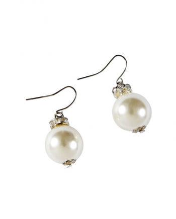 Klassische Perlenohrringe