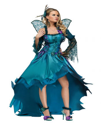 Peacock fairy costume Deluxe XL