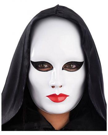 Pierrot face mask