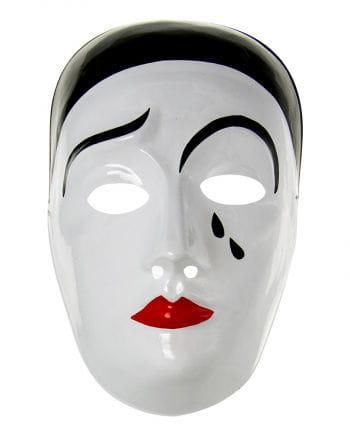 Pierrot Mask PVC