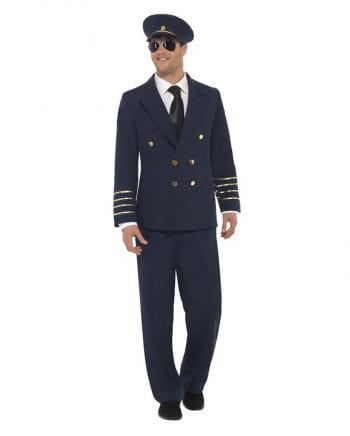 Dunkelblaues Piloten Kostüm