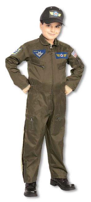 Pilot Kinderkostüm