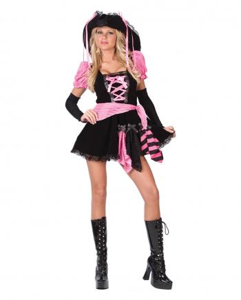 Pink Punk Pirate Costume Size M/L