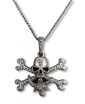 Pirate Charm Silver