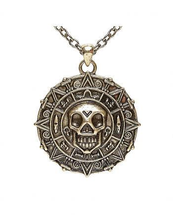 Halskette mit Piraten Amulett