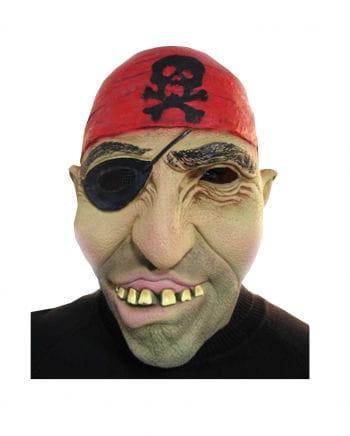 Seeräuber Maske mit Augenklappe