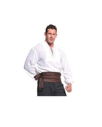 Seeräuber Kostüm Hemd weiß