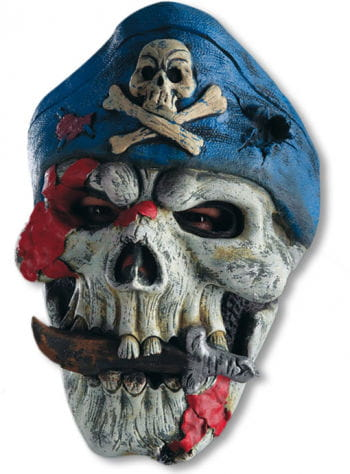 Pirate Mask with Skull