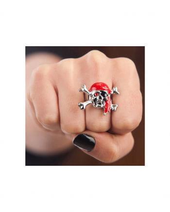 Seeräuber Totenkopf Ring