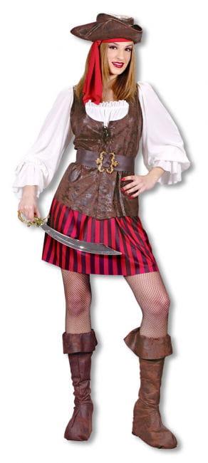 Sexy Pirate Lady Costume Medium Large