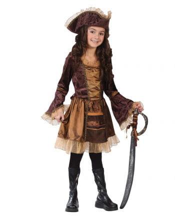 Piratenlady Kinderkostüm Gr. S