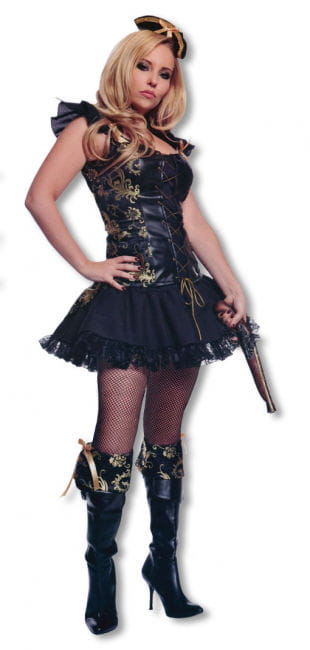 Pirate Lady Costume with Hat L / 40