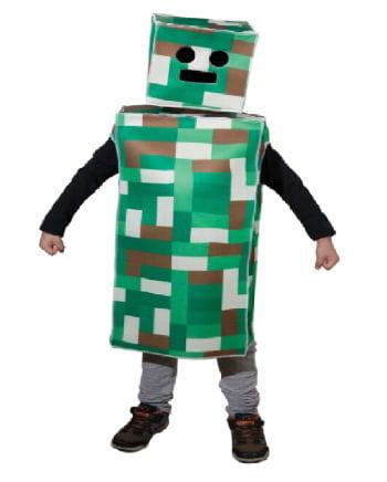 Kinderkostüm Pixel Monster