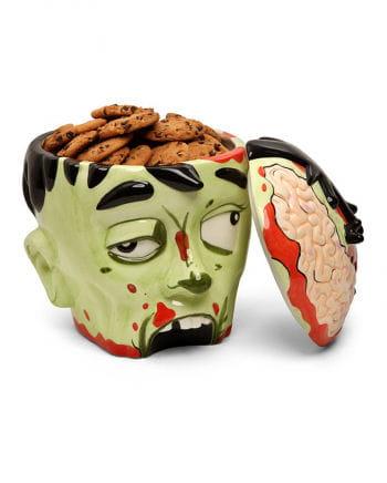 Keksdose Zombie-Kopf
