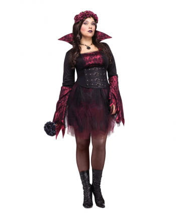 Gothic Rosen Vampir Kostüm XL